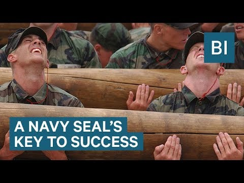 Former Navy SEAL sniper reveals how staying focused is the key to success
