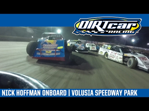 UMP Modifieds Nick Hoffman Volusia Speedway Park February 20, 2017 | ONBOARD