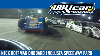 UMP Modifieds Nick Hoffman Volusia Speedway Park In-Car Camera