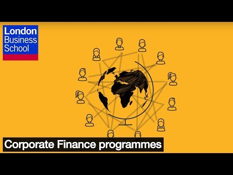 Corporate Finance programmes l London Business School