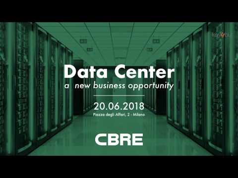 Data Center: a new business opportunity. Milano, 20 giugno 2018
