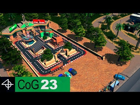 Parks, Transport and other Services | Cities: Skylines – City of Gardens SCENARIO, Part 23