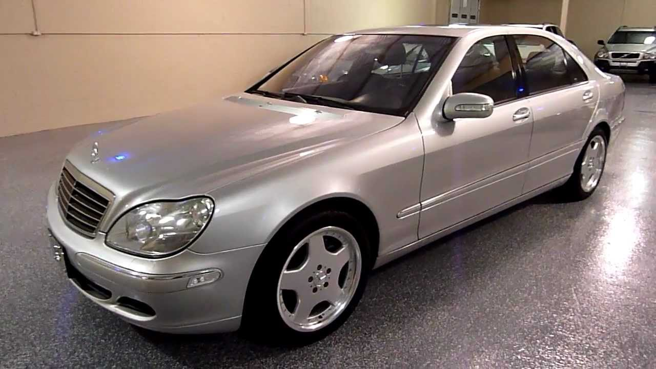 2003 mercedes benz s500 4matic 4dr 2102 sold youtube. Black Bedroom Furniture Sets. Home Design Ideas