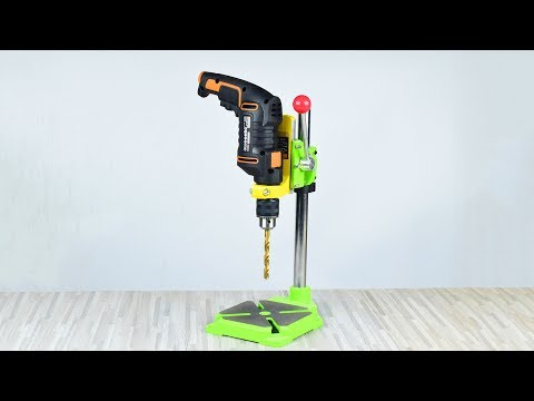Drill Press Stand Unboxing and test