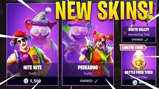 *NEW* NITE NITE & PEEKABOO SKIN RELEASED TODAY! - Item Shop Countdown! (Fortnite Battle Royale)