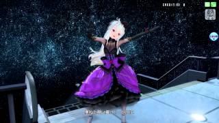 【初音ミク Project DIVA Arcade】 楽曲: 多重未来のカルテット モジュール:弱音ハク - ゴシック・パープル.
