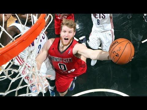 Thomas Walkup NBA D-League Season Highlights w/ Windy City Bulls