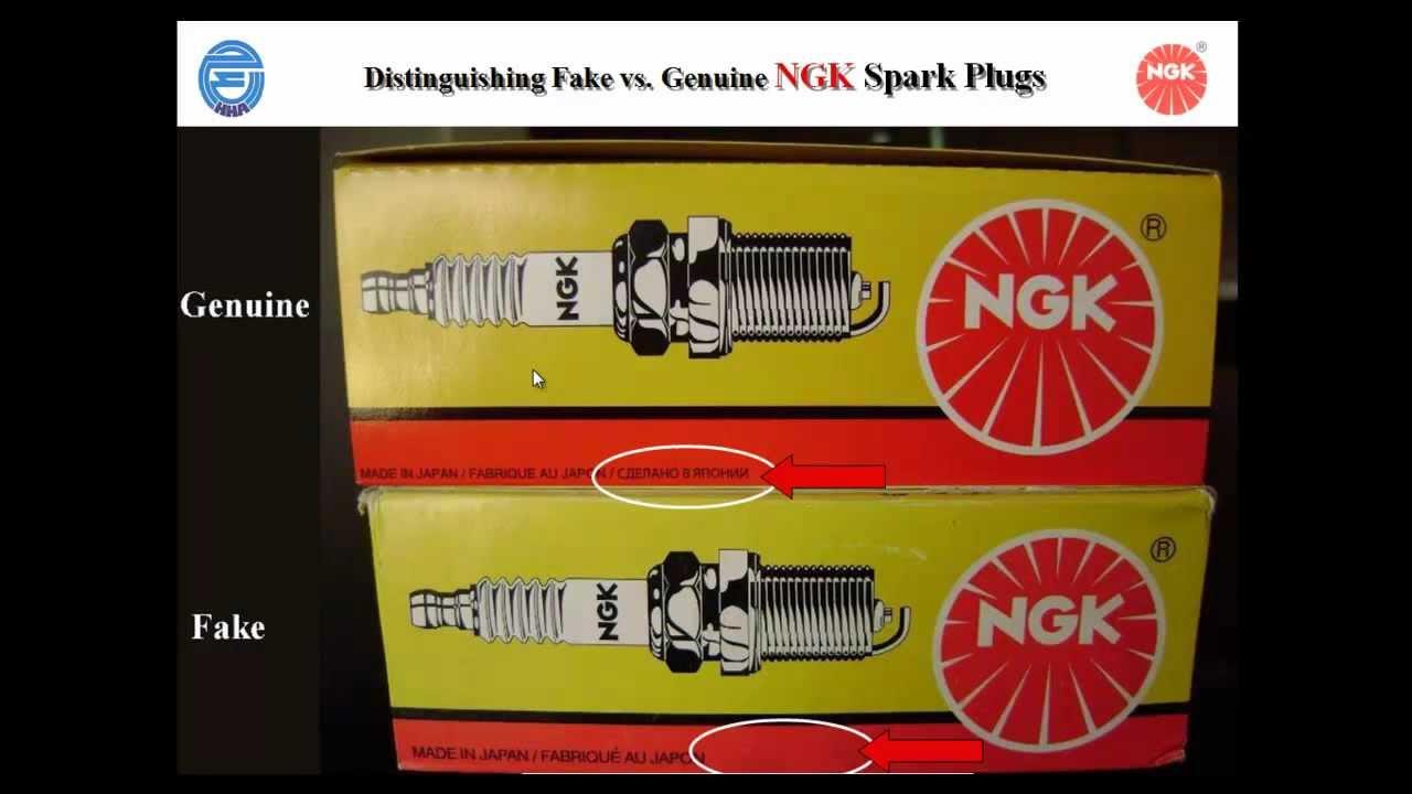 Ngk Iridium Spark Plugs >> Fake & Genuine NGK Spark plugفروقات بواجي ان جي كي اصلي و ...