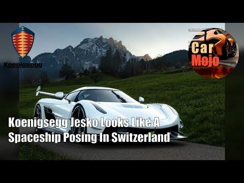 Koenigsegg Jesko Looks Like A Spaceship Posing In Switzerland | CarMojo