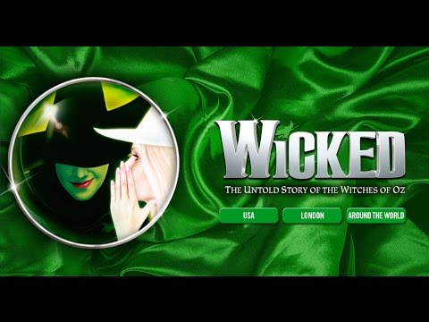 COSTUME FITTING FOR WICKED!