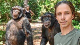 Kody Antle Has Dinner with Chimps | Myrtle Beach Safari