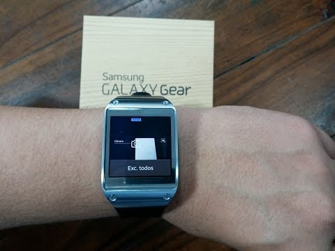 Relógio Galaxy Gear da Samsung - Análise e Testes