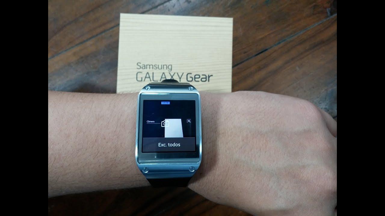 4e2bd2d8a5c Relógio Galaxy Gear da Samsung - Análise e Testes - YouTube