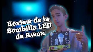 Me he comprado una BOMBILLA ESPECIAL... | Review AWOX - SMARTLED WHITE 9W