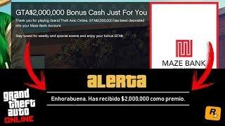 ROCKSTAR REGALA MILLONES DE DOLARES A TODOS LOS JUGADORES DE GTA ONLINE POR HACER ESTO! CORRE!!