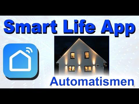 Smart Life App Automatismus Einstellen