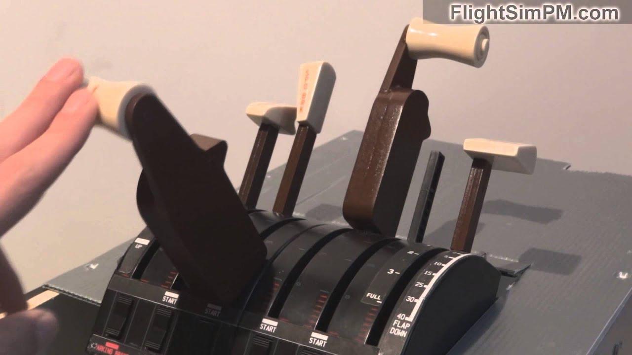Saitek Throttle Levers B 777 for sale - YouTube