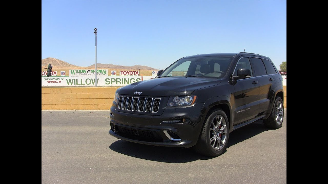 Track Time The 2012 Jeep Grand Cherokee SRT8 Tears Up The