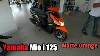 Yamaha Mio i 125 - Matte Orange