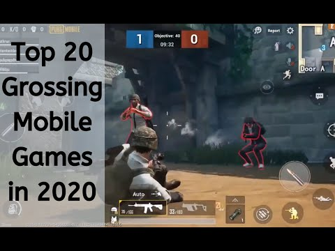 Top 20 Grossing Mobile Games In 2019-2020
