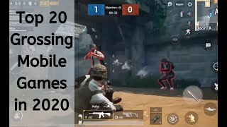 Top 20 Grossing Mobile Games In 2019 2020