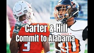 Alabama Crimson Tide Football: Andrew Bone talks Dax Hill and Jeffery Carter joining the Tide