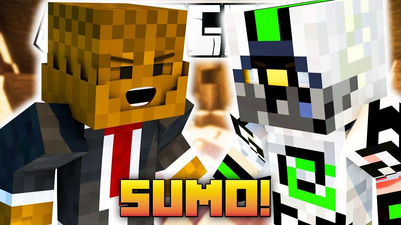 майнкрафт скин сумо #10