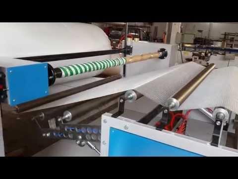 Balonlu naylon makinesi makinası otomatik kesme ve sarma ünitesi