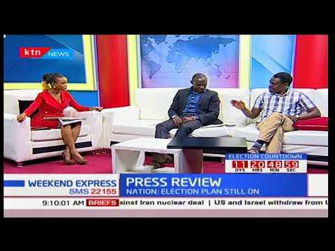 NASA presidential candidate Raila Odinga set to jet back as Anti-IEBC Demos continue: Press Review 2