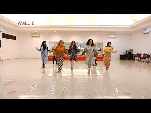 Aku Punya Siapa Linedance By Anieta Arief (PLD INA, April 2018)