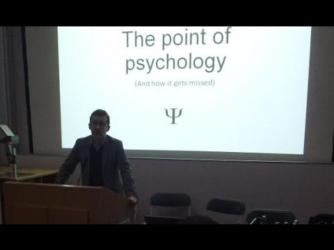 """The Point of Psychology (And how it gets missed)"""