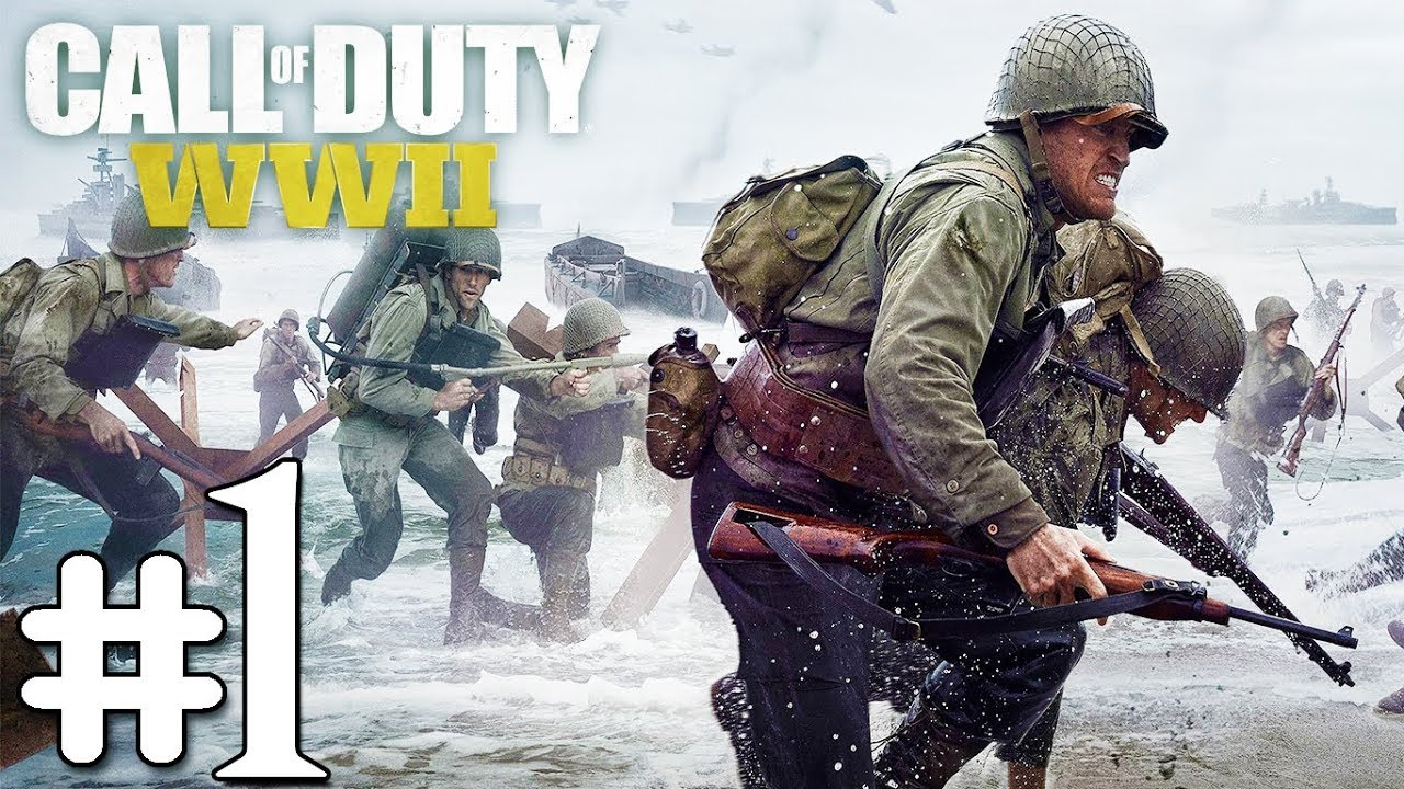 Call of Duty WW2 : ระเบิดสงครามโลกครั้งที่ 2 D-Day ยกพลขึ้นบก Part-1 (ไทย)