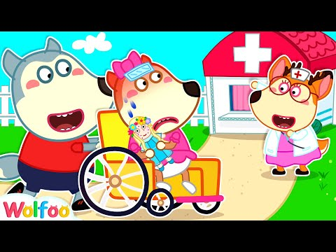 Baby Lucy Got Sick - Wolfoo Helps Lucy Go to the Doctor | Wolfoo Channel Kids Cartoon