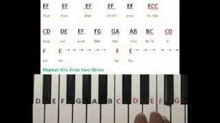 Jai ho song on Keyboard Part 1