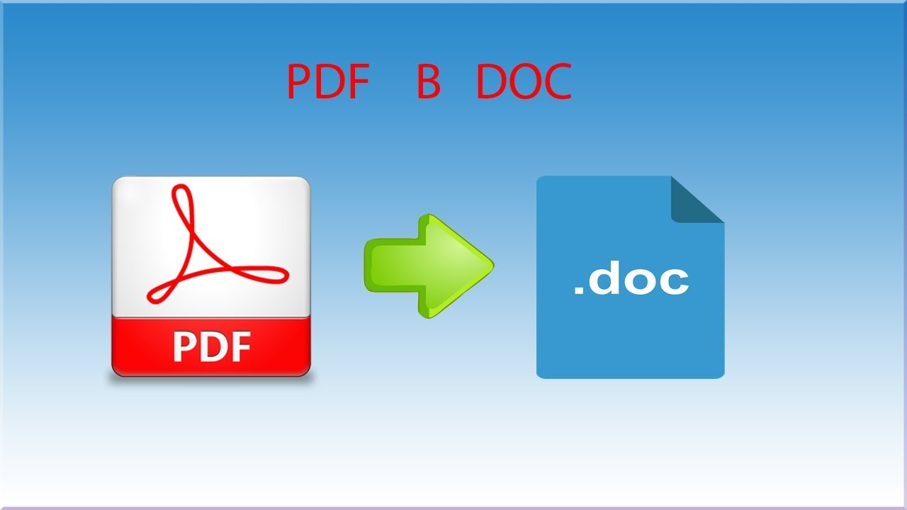 pdf doc Pdf to word converter allows to convert any pdf file to word format online no need to install anything, it's free and easy to use.