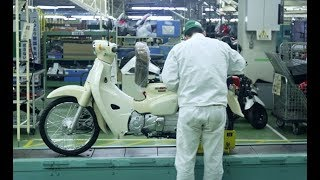 Watch The New Honda Super Cub 125 Being Produced