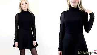 HUGE Try on haul Aliexpress/spring summer Fashion Tops/Talever