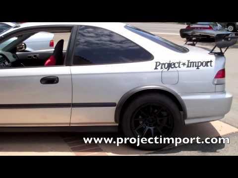 Project Import Honda Civic Ek Coupe 16x8 25 0 Offset