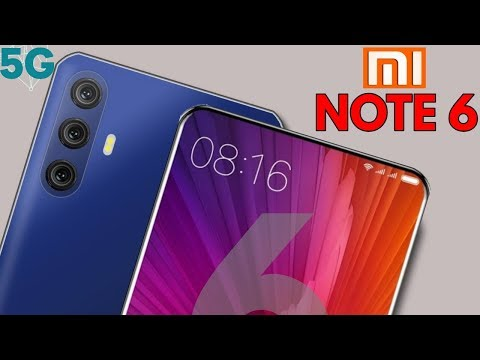 Xiaomi Redmi Note 6 Pro With 5G Network - 48 MP DSLR Camera With-In Display Fingerprint Scanner