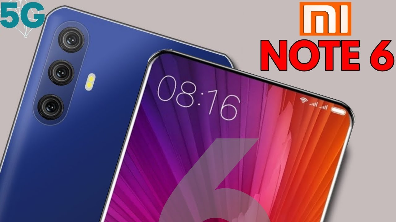 Xiaomi Redmi Note 6 Pro With 5g Network 48 Mp Dslr Camera With In