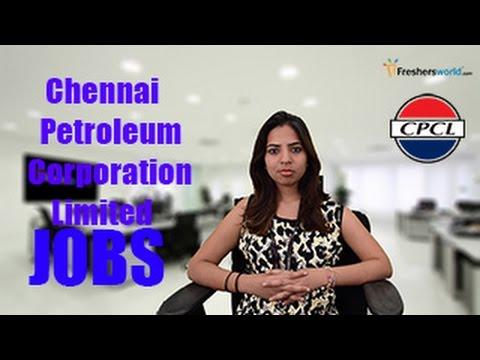 CPCL- CHENNAI PETROLEUM Recruitment Notification 2017– CPCL jobs through GATE, Exams,results