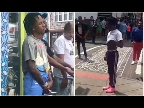 Lil Uzi Vert Jumps Out Car On Rich The Kid To Confront Him About Internet Beef