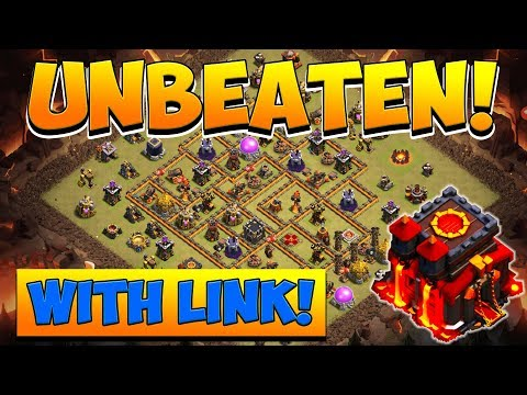 UNBEATEN TH10 WAR BASE! Town Hall 10 WITH LINK | Anti 3 Star | Clash Of Clans | COC