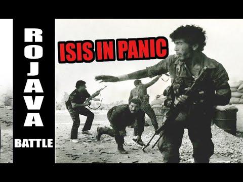 ISIS IN PANIC. KURDS VS TURKEY ATTACK IN ROJAVA BATTLE SYRIA.