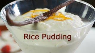Rice Pudding / Riz au Lait - Bruno Albouze - THE REAL DEAL