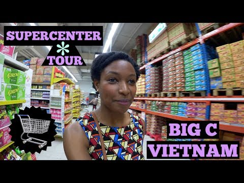 Follow Me Around Vietnam's Huge Supermarket! | charlycheer | Life in Vietnam