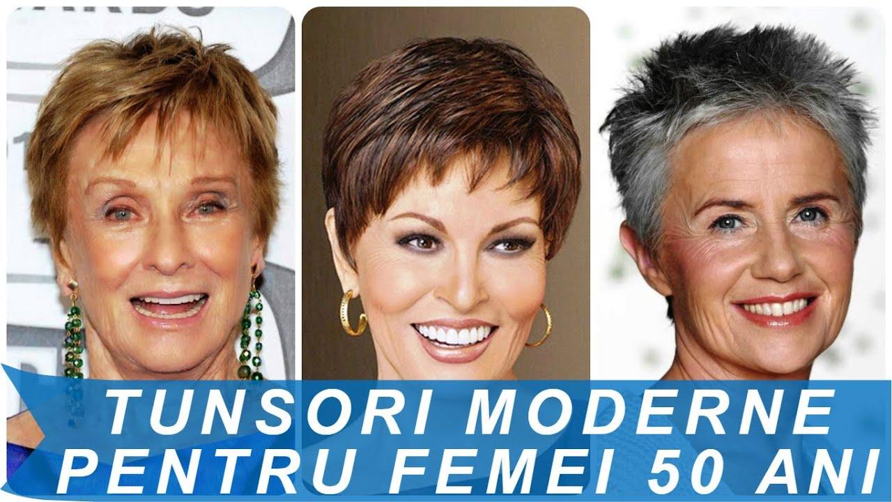 Tunsori Moderne Pentru Femei 50 Ani Youtube
