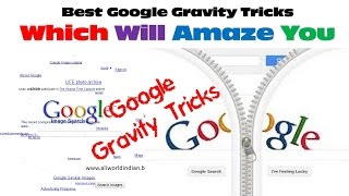 Try something exciting on Google with the new Google Gravity Tricks