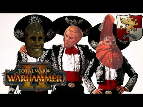 Empire vs Norsca | GELT, GOTREK & FELIX - Total War Warhammer 2