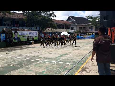 Lomba Paskibra/Tari Komando PASHEMAN'90 At UNSAP Tari Komando (Prins Bolang)